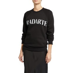 Oveersized Radarte Font Sweatshirt