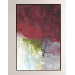 Burgundy Bride Giclee On Canvas Wall Art With Frame found on Bargain Bro from neimanmarcus.com for USD $581.40