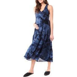Maternity Rio Tie Dyed Tiered Racerback Dress found on MODAPINS from neimanmarcus.com for USD $165.00
