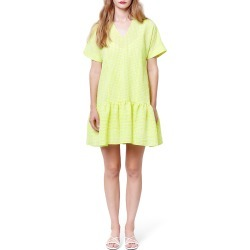 Piper V-Neck Babydoll Dress found on MODAPINS from neimanmarcus.com for USD $216.00
