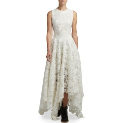 Sheer Embroidered-Lace Cocktail Dress found on MODAPINS from neimanmarcus.com for USD $1922.00