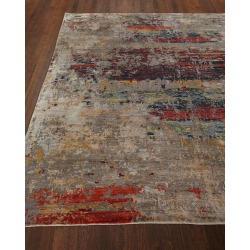 Titus Hand Knotted Rug, 10' x 14' found on Bargain Bro from neimanmarcus.com for USD $5,699.24