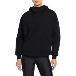 Thin Down Pullover Hoodie