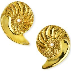 Nautilus 18k Pearl Earrings found on Bargain Bro Philippines from neimanmarcus.com for $7940.00