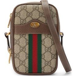 Ophidia North/South Zip Crossbody Bag