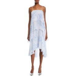 Tiered Silk Slip Dress found on MODAPINS from neimanmarcus.com for USD $598.00
