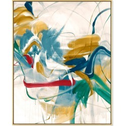 Color Moves Giclee On Canvas Wall Art With Frame found on Bargain Bro from neimanmarcus.com for USD $501.60