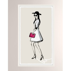 OOTD Fancy VI Giclee On Paper Wall Art With Frame found on Bargain Bro from neimanmarcus.com for USD $197.60