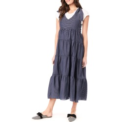 Maternity Rio Tiered Racerback Dress found on MODAPINS from neimanmarcus.com for USD $165.00
