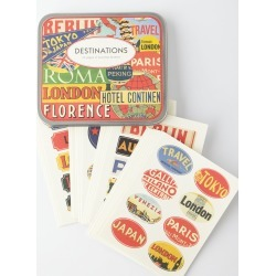 Destination Travel Stickers found on Bargain Bro India from neimanmarcus.com for $14.95