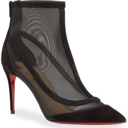 Gala Mesh Red Sole Stiletto Booties found on MODAPINS from neimanmarcus.com for USD $1095.00