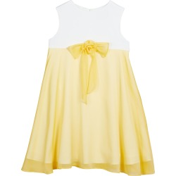 Girl's Two-Tone Bow Sleeveless Dress, Size 2-6 found on Bargain Bro Philippines from neimanmarcus.com for $195.00