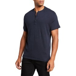 Men's Classic Short-Sleeve Henley Shirt found on Bargain Bro India from neimanmarcus.com for $125.00