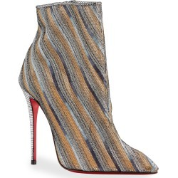 Gipsy Multicolored Zip Red Sole Booties found on MODAPINS from neimanmarcus.com for USD $1095.00