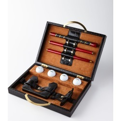 Travel Golf Set with Croc-Embossed Carry Case found on Bargain Bro Philippines from neimanmarcus.com for $695.00