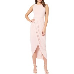 Lily Sleeveless Draped Maxi Dress found on MODAPINS from neimanmarcus.com for USD $89.00