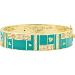Harmony Turquoise Wide Hinge Bangle found on Bargain Bro Philippines from neimanmarcus.com for $495.00