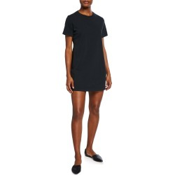 Crewneck Short-Sleeve T-Shirt Dress found on MODAPINS from neimanmarcus.com for USD $73.00
