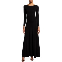 Long-Sleeve Jersey Maxi Dress found on MODAPINS from neimanmarcus.com for USD $1095.00