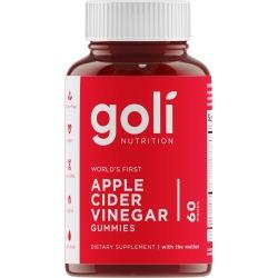 Goli World's First Apple Cider Vinegar Gummy Supplement, 60 Count