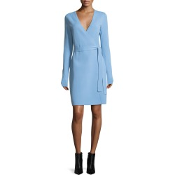 Long-Sleeve Knit Wrap Dress found on MODAPINS from neimanmarcus.com for USD $278.00