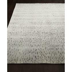 Silver Leopard Rug, 6' x 9' found on Bargain Bro from neimanmarcus.com for USD $1,268.44