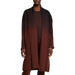 Ombre High Collar Wool Coat found on MODAPINS from neimanmarcus.com for USD $160.00