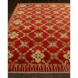 Augustus Hand Knotted Rug, 4' x 6' found on Bargain Bro from neimanmarcus.com for USD $531.24
