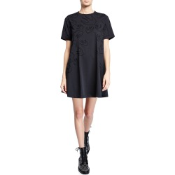 Babydoll Short-Sleeve T-Shirt Dress found on MODAPINS from neimanmarcus.com for USD $260.00