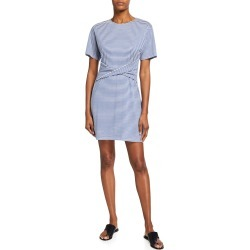 Front-Twist Stripe Mini Dress found on MODAPINS from neimanmarcus.com for USD $265.00