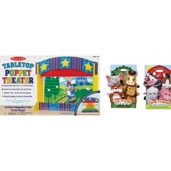 Let's Play Puppet Pal Theater Bundle found on Bargain Bro India from neimanmarcus.com for $130.00