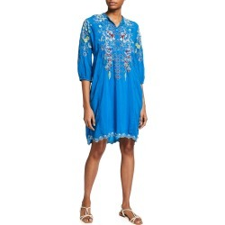 Nola Embroidered Tunic Dress with Slip found on MODAPINS from neimanmarcus.com for USD $298.00