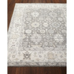 Andrea Hand Knotted Rug, 4' x 6' found on Bargain Bro from neimanmarcus.com for USD $379.24