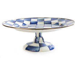 Royal Check Pedestal Platter found on Bargain Bro Philippines from neimanmarcus.com for $88.00
