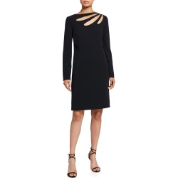 Cutout Crepe Shift Dress found on MODAPINS from neimanmarcus.com for USD $1150.00