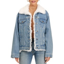 Lamb Fur-Lined Jacket found on Bargain Bro from neimanmarcus.com for USD $756.20