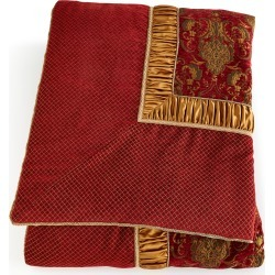 Scarlet King Comforter found on Bargain Bro Philippines from neimanmarcus.com for $560.00