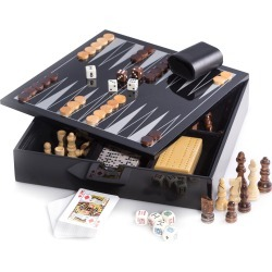 Wooden Multi-Game Set found on Bargain Bro Philippines from neimanmarcus.com for $180.00