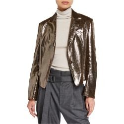 Sparkling Napa Leather Jacket found on Bargain Bro Philippines from neimanmarcus.com for $2740.00