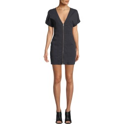 Novak Zip-Front Mini Dress found on MODAPINS from neimanmarcus.com for USD $178.00