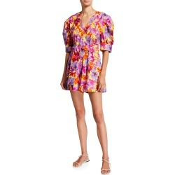 Becky Floral-Print Romper found on Bargain Bro India from neimanmarcus.com for $365.00