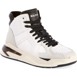 Men's B Ball Leather & Suede High-Top Sneakers found on Bargain Bro India from neimanmarcus.com for $750.00