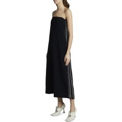 Embroidered Strapless Dress found on MODAPINS from neimanmarcus.com for USD $1221.00