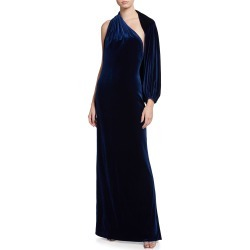 Velvet One-Sleeve Gown found on MODAPINS from neimanmarcus.com for USD $748.00