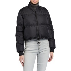 Bubble Short Down Cropped Jacket