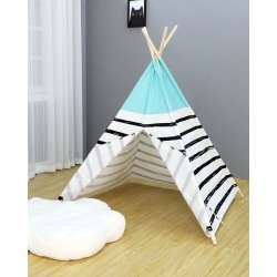 Kids' Stripe Play Teepee found on Bargain Bro India from neimanmarcus.com for $180.00