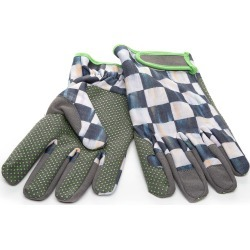 Courtly Check Garden Gloves - Medium found on Bargain Bro India from neimanmarcus.com for $48.00
