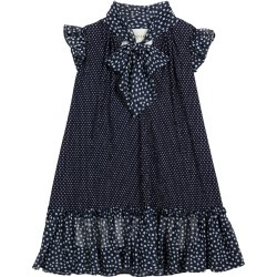 Girl's Self-Tie Ruffle Polka-Dot Dress, Size 2-6 found on Bargain Bro Philippines from neimanmarcus.com for $195.00