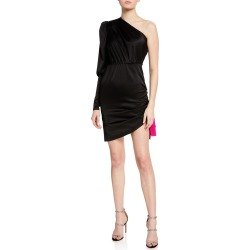 Neva One-Shoulder Cocktail Dress found on MODAPINS from neimanmarcus.com for USD $670.00