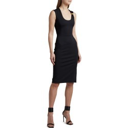Bodycon Midi Dress with Hardware Detail found on MODAPINS from neimanmarcus.com for USD $1550.00